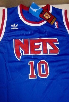NWT, RARE Mookie Blaylock #10 Stitched Nets Jersey - Pearl Jam - Mens L