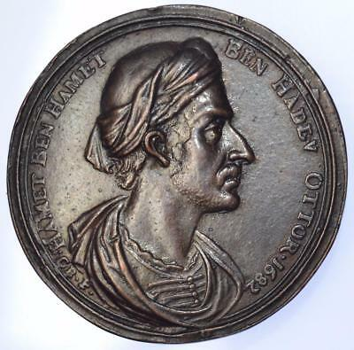 Charles II - 1682 Ambassadors of Morocco and Bantam Cast medal by Bower