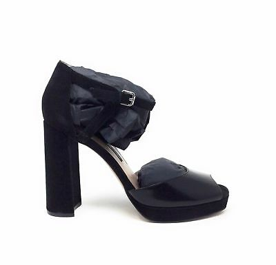 6033768037c French Connection Womens Dita Platform Pump Ankle Strap Black Size 40 EU 9  M US