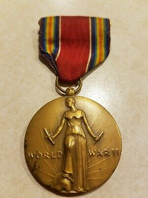 WW2 Campaign & Service Victory Medal Freedom from Fear, Want, Speech & Religion