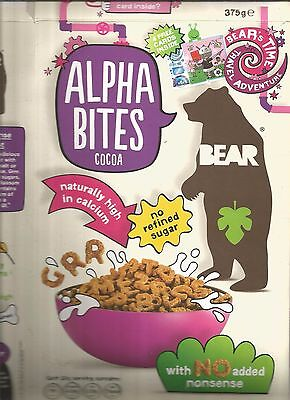 Yoyo Bear Cereal Box For Time Travel Cards