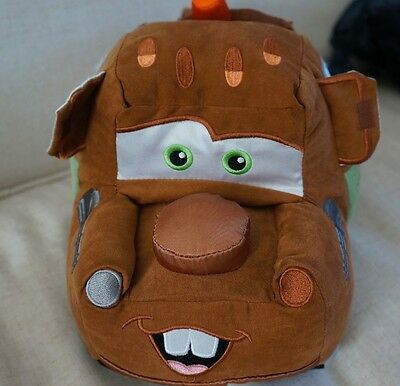 """Disney/Pixar Tow Mater from Cars Disney Store Soft Toy 12""""/30cm Excellent"""
