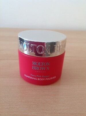 Brand New & Unused Molton Brown Fiery Pink Pepper Pampering Body Polisher - 50Ml