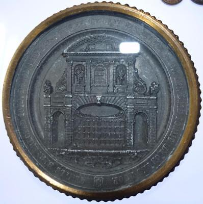 Queen Victoria -  1878 The Removal of Temple Bar City of London medal
