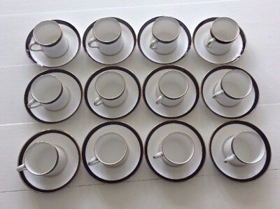 12 Spode Fine Bone China Classic Coffee Cups Y7332-P Consul Cobalt