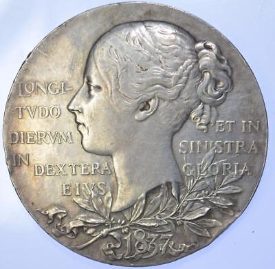 Queen Victoria - 1897 Jubilee Official Large Silver medal