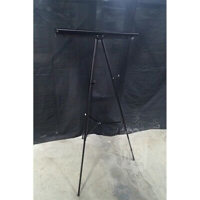 MasterVision FLX09101MV 3-Leg Telescoping Easel W/Pad Retainer 35in To 64in 25lb