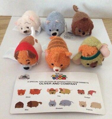 DISNEY Tsum Tsum Subscription OLIVER AND COMPANY