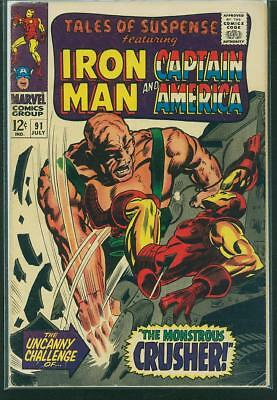 Tales of Suspense #91 VG