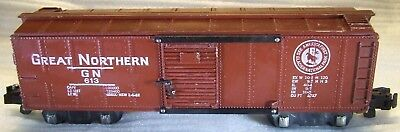1953 AF 613 GN Tuscan-Painted Boxcar Stamped Goat Logo Knuckles AMERICAN FLYER.