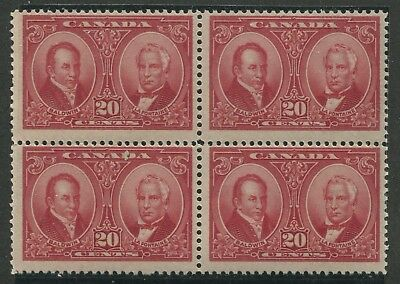 Canada #148 Mint Block Of 4 Nh (.02)