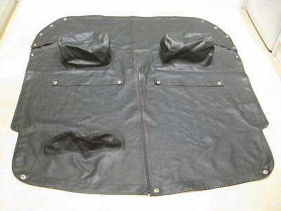 MGB / MGC Full tonneau cover with headrests black