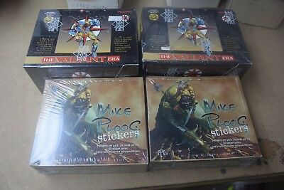Factory Sealed Wax Box Lot of 4 Boxes w/ Upper Deck Valiant, Mike Ploog Nice!