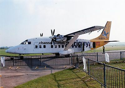 Photo of Shorts 360 operated by Aurigny seen at Duxford 00s