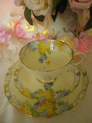 """Vintage Paragon By Appointment Trio, """"elise"""" 1930's Good Condition"""