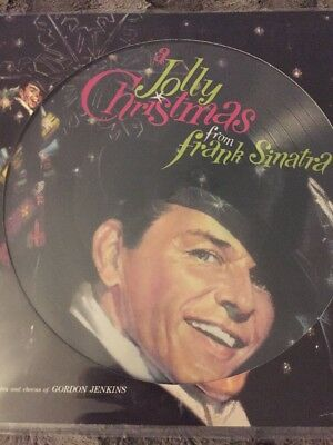 Frank Sinatra A Jolly Christmas  -'NEW PICTURE DISC 2017 PRESSING VInyl Lp