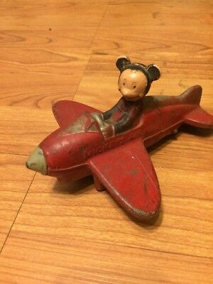 vintage mickeys air mail rubber