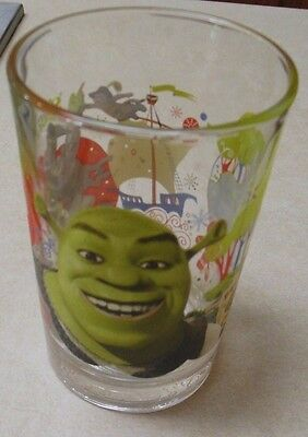 "McDonald's Shrek The Third 5"" Collector Glass 2007"