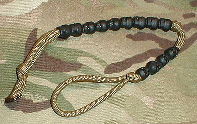 Tactical Ranger Pace Beads on Coyote Tan Paracord - Airborne SAS SBS DEVGRU