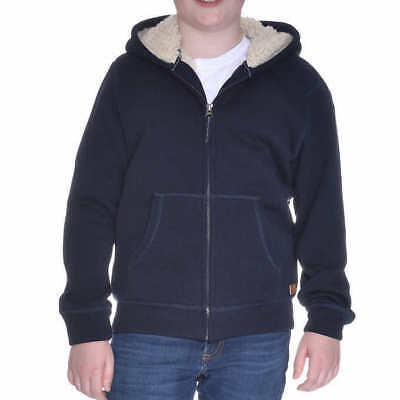 Weatherproof Vintage Youth Boys' Sherpa Lined Hoodie - BLUE (Select Size)