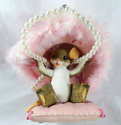 Charming Tails Hat's Off to a Cure Figurine