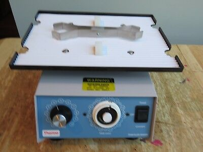 Barnstead Lab-Line 4625 Titer Plate Shaker w Holding Clamp BLUE 2 available