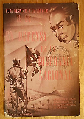 Book 1959 Cuba Response To Us Ambassador On Cuba-Us Relations Raul Roa