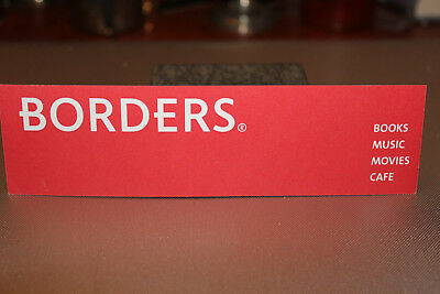 Borders Bookstore Bookmark - Americana, advertising collectible