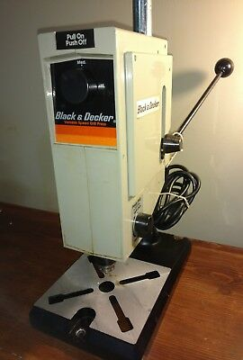Black And Decker Variable Speed Drill Press 9414 3000 Rpm Free Ship