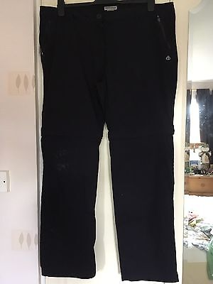 Ladies Craghoppers Trousers Size 18