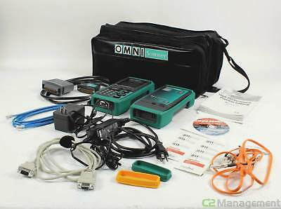 Omni Microtest Scanner LT Remote and Accessories