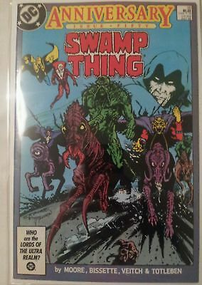 Swamp Thing #50 - 1st Full appearance Of The Justice League Dark!