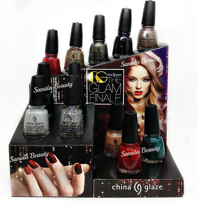 China Glaze Nail Lacquer THE GLAM FINALE Collection 2017 - Choose Any Color