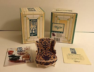 Take a Seat by Raine ~ Biltmore Collection ~ Mrs. Vanderbilt's Chair ~ Lot of 2
