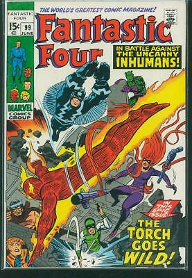 Fantastic Four #99 VF-