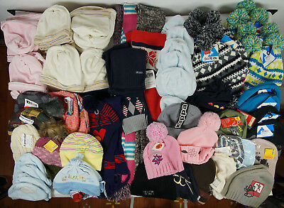 90 pc. Clearance Lot Children Brands Clothing Caps Scarf Döll , Dare 2B etc
