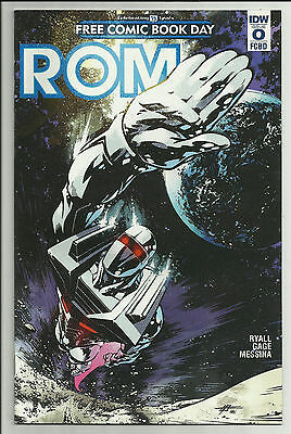 ROM #0 Free Comic Book Day FCBD Exclusive IDW 2016