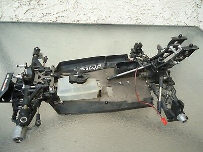 Thunder Tiger EB4 1/8 RC Buggy Parts Chassis Car as-is