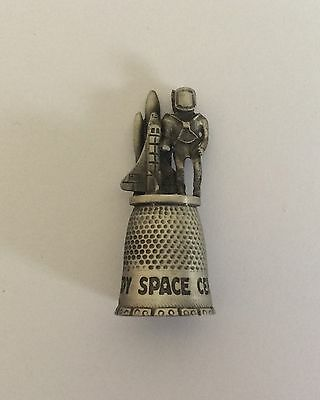 Pewter Kennedy Space Center Thimble