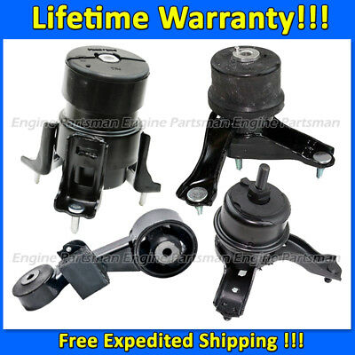 3 PCS Motor /& Trans Mount For 2010-2011 Toyota Camry 2.5L Except Hybrid