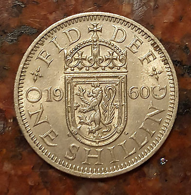 1960 Great Britain One Shilling Coin - High Grade - #1211