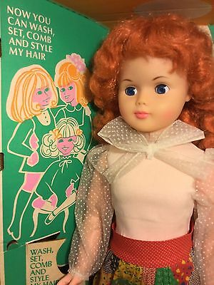 "Vintage  Life Size Eg  Walking Annette Doll 30"" Doll~ Play Pal Redhead Excellent"