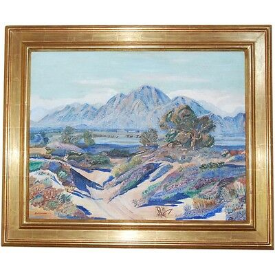 Early 20th century Mountain Landscape, by Blackstone