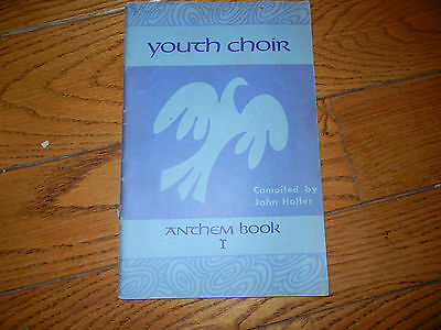 VTG 1935/1963 YOUTH CHOIR anthem Book I 2 part 16 songs piano organ MUSIC