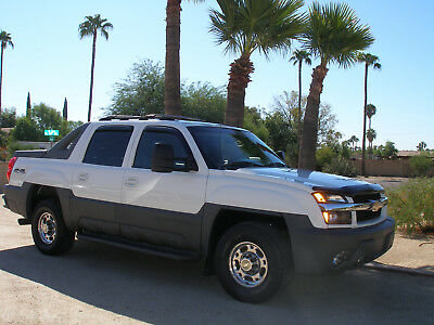 2002 Chevrolet Avalanche LT 2002 CHEVY AVALANCHE 2500 LT  4X4  8100 V-8  EXTRA CLEAN  RUST FREE  ARIZONA