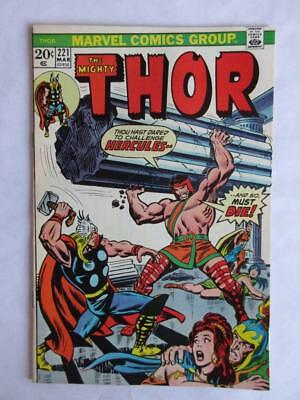 Thor # 221 - NEAR MINT 9.4 NM - Avengers IronMan MARVEL Check out our Comics