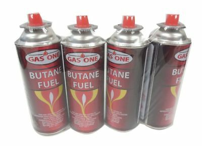 GASONE 4 Cans Butane Gas Fuel Canister 8oz Portable Stove Burner Torch Cartridge