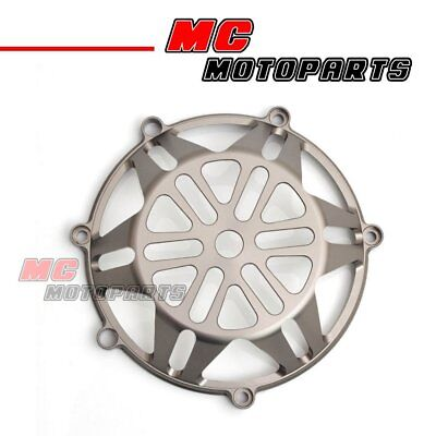 Titanium For Ducati CNC Billet Clutch Cover Monster S4RS S2R 1100 900ie CC21