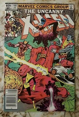 Uncanny X-Men #160 Vf 1St Magik 1 Appearance Key Marvel Comic