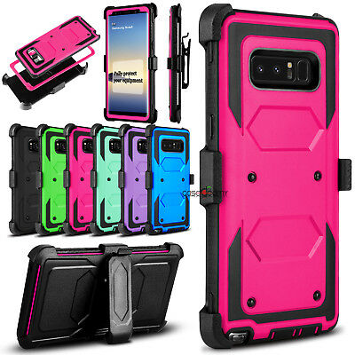 For Samsung Galaxy Note 8 Phone Case Shockproof Hybrid Rugged Hard Armor Cover
